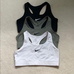 Nike sports bras (3 pack)